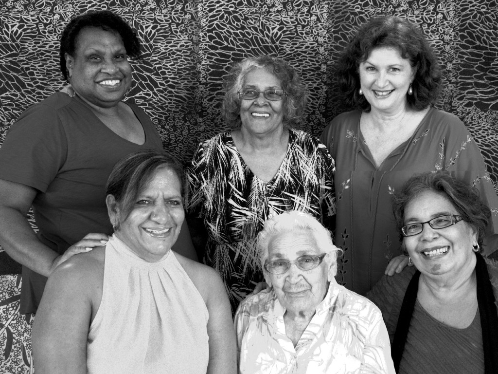 Queensland Languages Group  - bw contrast